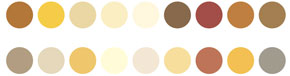 Peinture boiserie intérieure. 19 teintes dans les tons naturels de la gamme Dunes de V33. existe en aspect satin et brillant