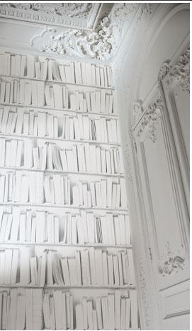 Papier peint trompe l 39 oeil plus vrai que nature koziel - Papier peint pierre blanche ...