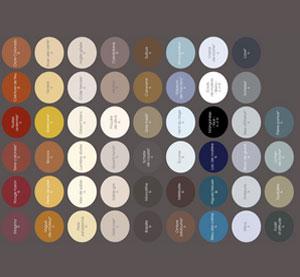 pour créer une ambiance déco en coordonné, en contraste ou en camaïeu dans votre salon ou votre chambre avec la gamme de peinture épure® et ses 64 couleurs pour trois styles d'ambiances