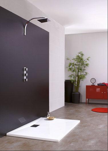 Receveur douche italienne à encastrer de 3 cm de hauteur. Equipé d'une grille d'évacuation en inox chromé. Possibilité de le compléter par des pieds réglables permettant d'atteindre une hauteur totale de 10 à 15 cm
