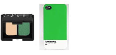 les accessoires de iphone et les cosmétiques adoptent le vert émeraude pour 2013