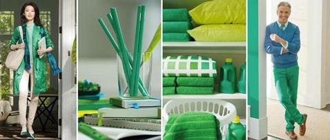 Le vert émeraude sera la couleur tendance en 2013 pour les accessoires de décoration pour la maison et le prêt à porter