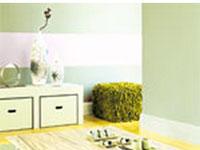 Association couleur avec le vert dans salon chambre cuisine - Chambre vert deau et beige ...
