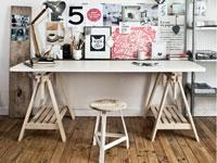 Fabriquer un bureau d'inspiration architecte