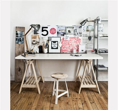 Bureau style loft faire soi m me - Deco table nouvel an a faire soi meme ...
