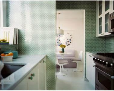 Peinture vert d39eau une couleur deco pour salon et cuisine for Salle de bain design avec décoration mariage antillais