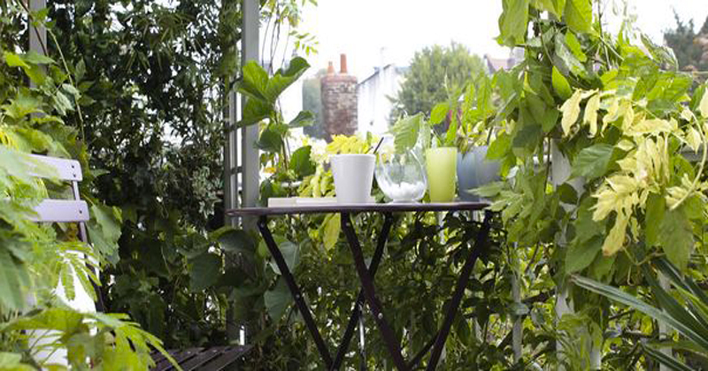 Id es pour am nager un balcon for Amenagement jardin vis a vis