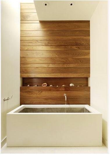 Rangement salle de bain en 26 id es anti casse t te for Rangement baignoire