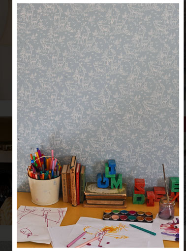 rouleau de peinture motifs pour murs meuble et tissu. Black Bedroom Furniture Sets. Home Design Ideas
