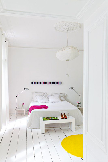peindre un parquet de chambre en blanc c 39 est top. Black Bedroom Furniture Sets. Home Design Ideas