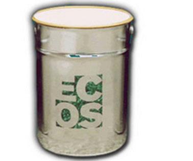 Pot de 5 litres peinture purificatrice d'air de Ecos Organic Paints. Existe en blanc et 76 couleurs