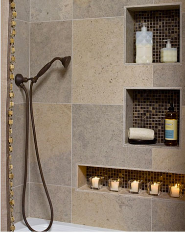 tile shower niche memes. Black Bedroom Furniture Sets. Home Design Ideas