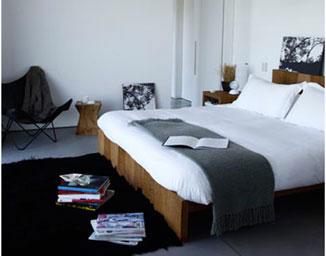 Id e d co de chambre noir et blanc - Chambre a coucher blanc et noir ...