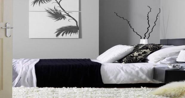 Déco Chambre Noir et Blanc et Gris Idées Chic  Deco-Cool