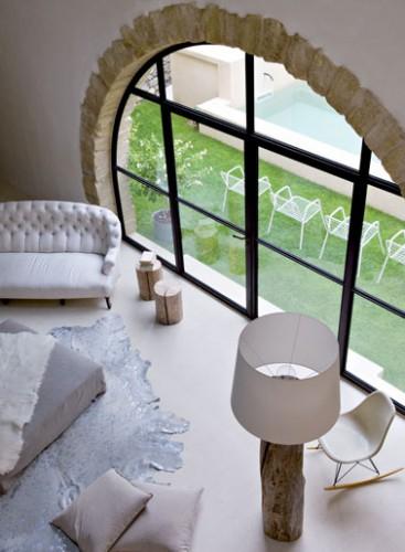 decoration salon style provence enduit a cirer couleur ficelle d coration maison et id es d co. Black Bedroom Furniture Sets. Home Design Ideas