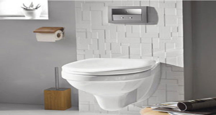 D co wc design avec cuvette wc suspendu d co cool for Decoration toilettes design