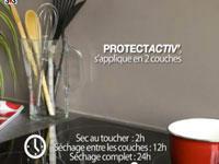 peinture carrelage cuisine credence-Peinture protection anti-tache ProtectActiv de V33