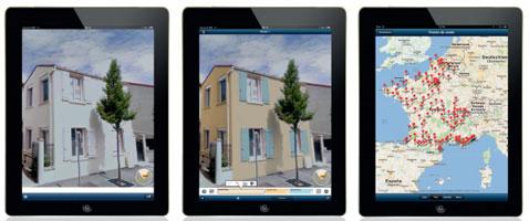 visualiser les couleurs de peinture avec appli Archi Color de Tollens application pour décorateur et architecte