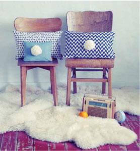 Chaise coussin tapis style boheme moderne westwing vente - Ventes privees mobilier contemporain chez westwing ...