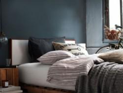 decoration-chambre-lit-chevet-palette-bois-cire