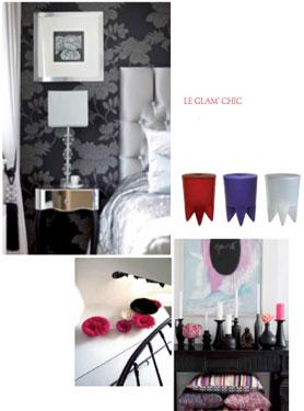 une sélection de meubles et objets décoration style Glam'chic en vente privée chez Westwing
