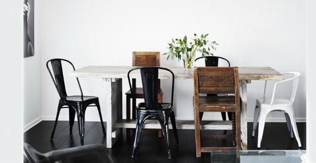 14 id es de chaises d pareill es autour de la table d co cool - Refaire sa salle a manger ...