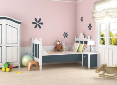 couleur peinture chambre enfant rose gris blanc peinture bio ushuaia bondex. Black Bedroom Furniture Sets. Home Design Ideas
