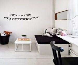idee déco pour faire une decoration murale dans la chambre d'un enfant ou bébé fille ou garçon