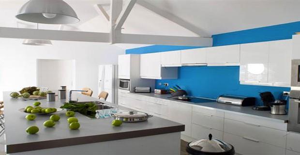 Couleur peinture cuisine 10 idees couleurs pour cuisine - Idee de couleur pour cuisine ...