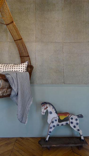 Papier peint vintage pour salon khaki le monde sauvage - Le monde sauvage meubles ...