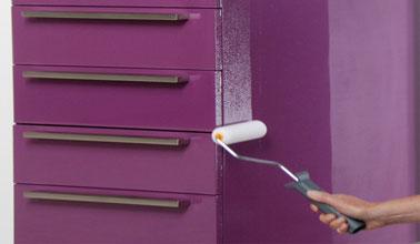 Refaire sa cuisine pas cher le must des id es faciles for Peinture resine pour meuble