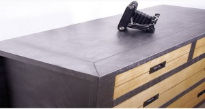 Peinture a effet pour murs et meubles deco cool for Peinture meuble effet metal