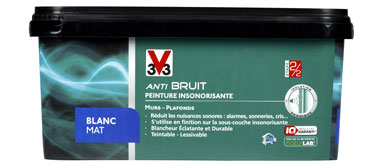 Finition de bruit for Pare bruit exterieur