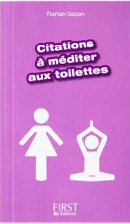 5 livres pour les toilettes sur l'Histoire, les sciences naturelles, la technologie, le people Chez First Editions