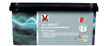 sous couche insonorisante avant peinture anti bruit v33. Black Bedroom Furniture Sets. Home Design Ideas