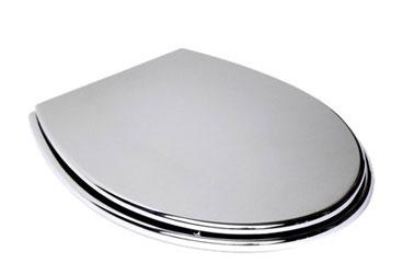 Abattant wc qui peut aussi servir de miroir