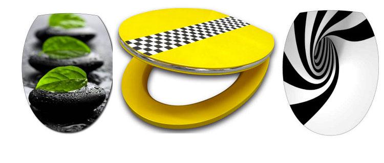 abattant et stickers pour d co wc originale et pas cher. Black Bedroom Furniture Sets. Home Design Ideas