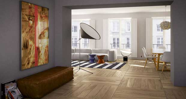 carrelage imitation parquet pour la maison et le jardin. Black Bedroom Furniture Sets. Home Design Ideas