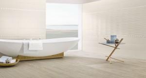 carrelage salle de bain mur sol, mosaïque et grès cérame émaillé