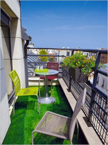 Am nagement d co pour petit balcon m me etroit - Idee deco balcon appartement ...