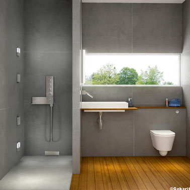 10 id es de salle de bain italienne d co for Design douche italienne