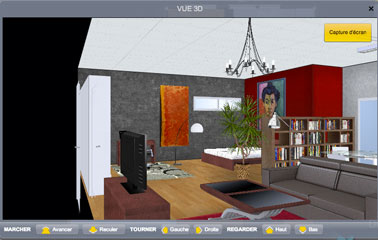 logiciel architecture int rieur gratuit en 3d pour tous d co cool. Black Bedroom Furniture Sets. Home Design Ideas