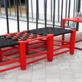 table, chaise, fauteuils et jardinière pour decoration terrasse et balcon
