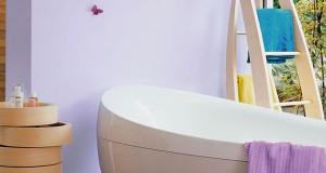 peinture salle de bain pour carrelage mur, anti-condensation