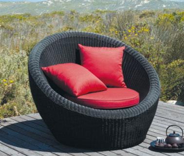 beautiful salon de jardin noir et rouge images amazing house design. Black Bedroom Furniture Sets. Home Design Ideas