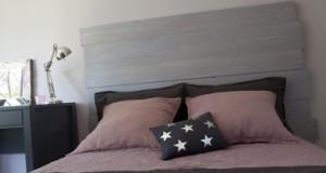 peindre un meuble bois avec peinture et teinte à effet