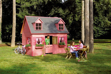 Maisonnette pas cher - Cabane de jardin plastique ...