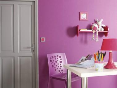 Couleur peinture chambre gris et rose for Couleur chambre fille rose et gris