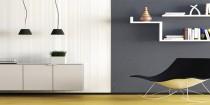couleur peinture salon et chambre effet industriel et enduit decoratif