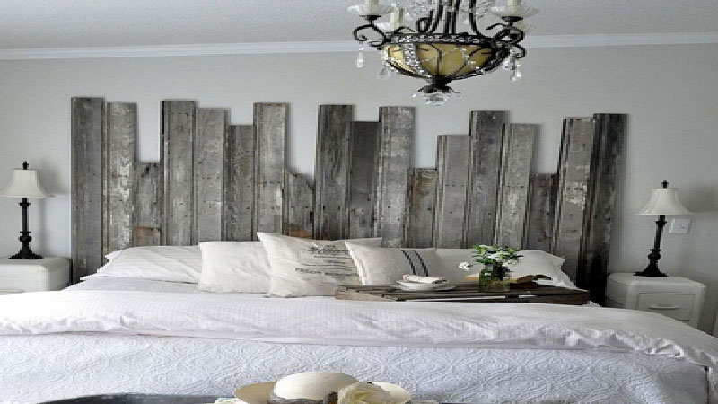 8 diy d co pour fabriquer une t te de lit deco cool. Black Bedroom Furniture Sets. Home Design Ideas